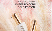 반디 2019 SPRING TREND  CHEERING CORAL GOLD EDITION